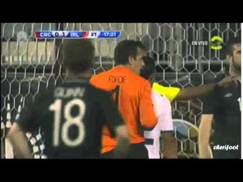 Costa Rica 1-1 Irlande (Match préparation 2014)