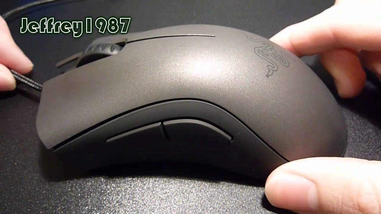 Razer DeathAdder BlackEdition Mouse Drivers for Windows 7