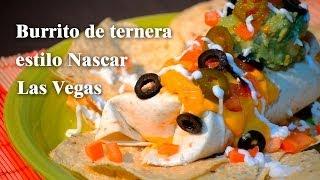 BURRITO TEX-MEX (Man Vs Food)----Receta Fácil