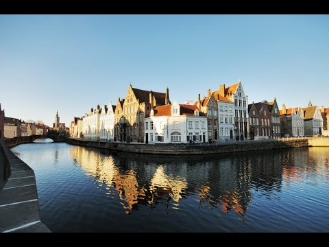 Bruges, Venice of the North - Beautiful sights (4K, UHD)