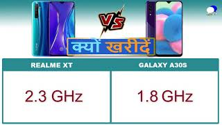Realme XT vs Samsung Galaxy A30S Comparison and Reasons to Buy