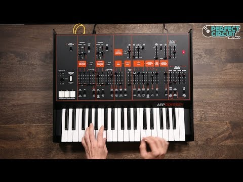 Korg Arp Odyssey Full Size Sounds And Filter Comparison