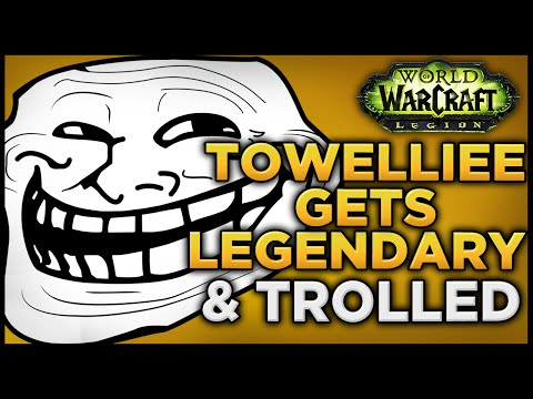 Towelliee Gets Legendary & Trolled At Same Time