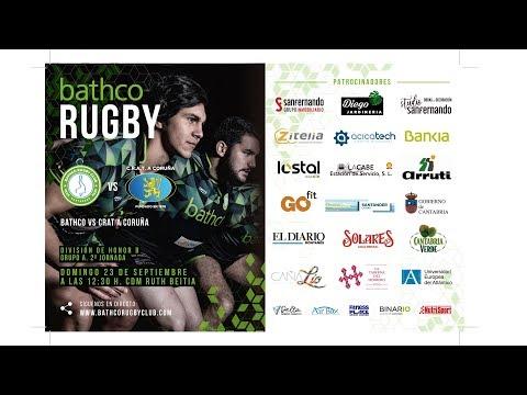 Retransmisión Bathco Rugby Club vs CRAT Residencia RIALTA