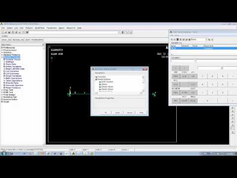 Ansys Mechanical Introductory Lecture Series LecB03: Harmonic analysis on spring mass system
