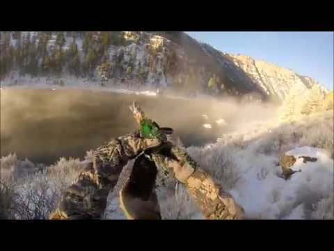 Duck and Goose Jump Shooting Missouri River 2017 Last Day
