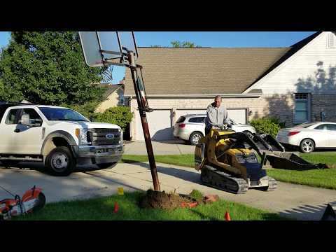 Basketball Hoop Removal in Greater Indianapolis Area