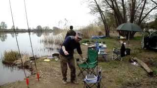 Рибалка у Франції, зловили баламутів