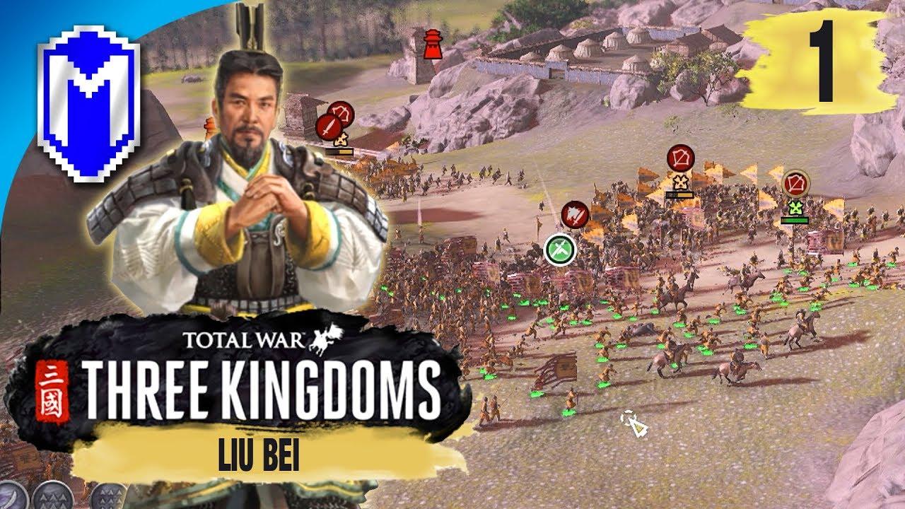Claiming New Territory – Liu Bei – Legendary Romance Campaign