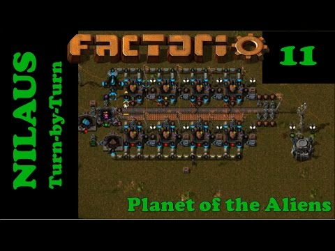 Lets Play Factorio S5E11 - Design of Improved Copper from Unicomp