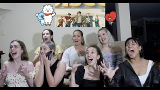 Download lagu BTS (방탄소년단) 'Dynamite' Official MV REACTION (with our Non-Kpop Besties)