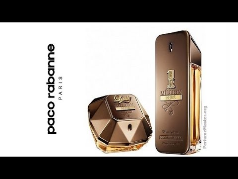 Paco Rabanne Lady Million 1 Million Prive Perfume Collection