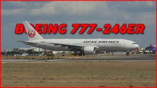 Japan Airlines - Boeing 777 | Taxiing and Takeoff