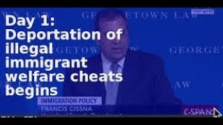 Donald Trump on Immigration I Don't Want to Have Anyone Coming in That's on Welfare