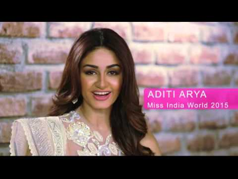 INDIA, Aditi Arya - Contestant Introduction : Miss World 2015