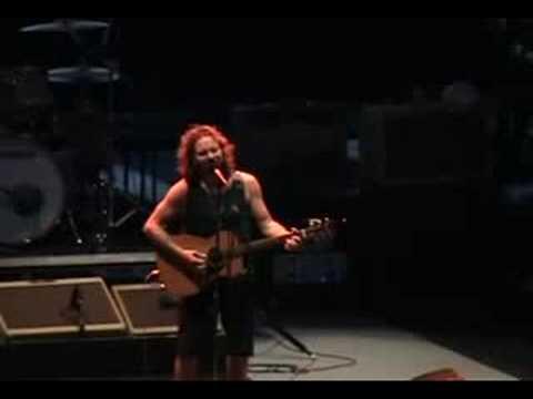 Pearl Jam - I won't back down (live)