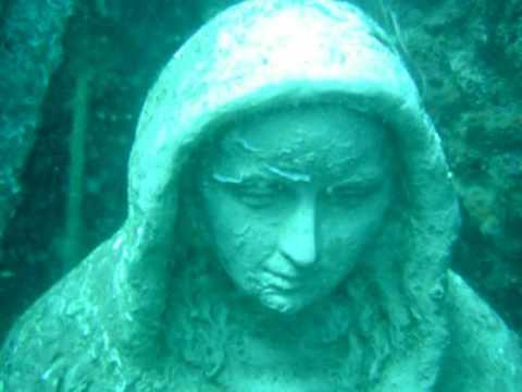 Virgen de la palma en el fondo del mar algeciras youtube - Fotos fondo del mar ...