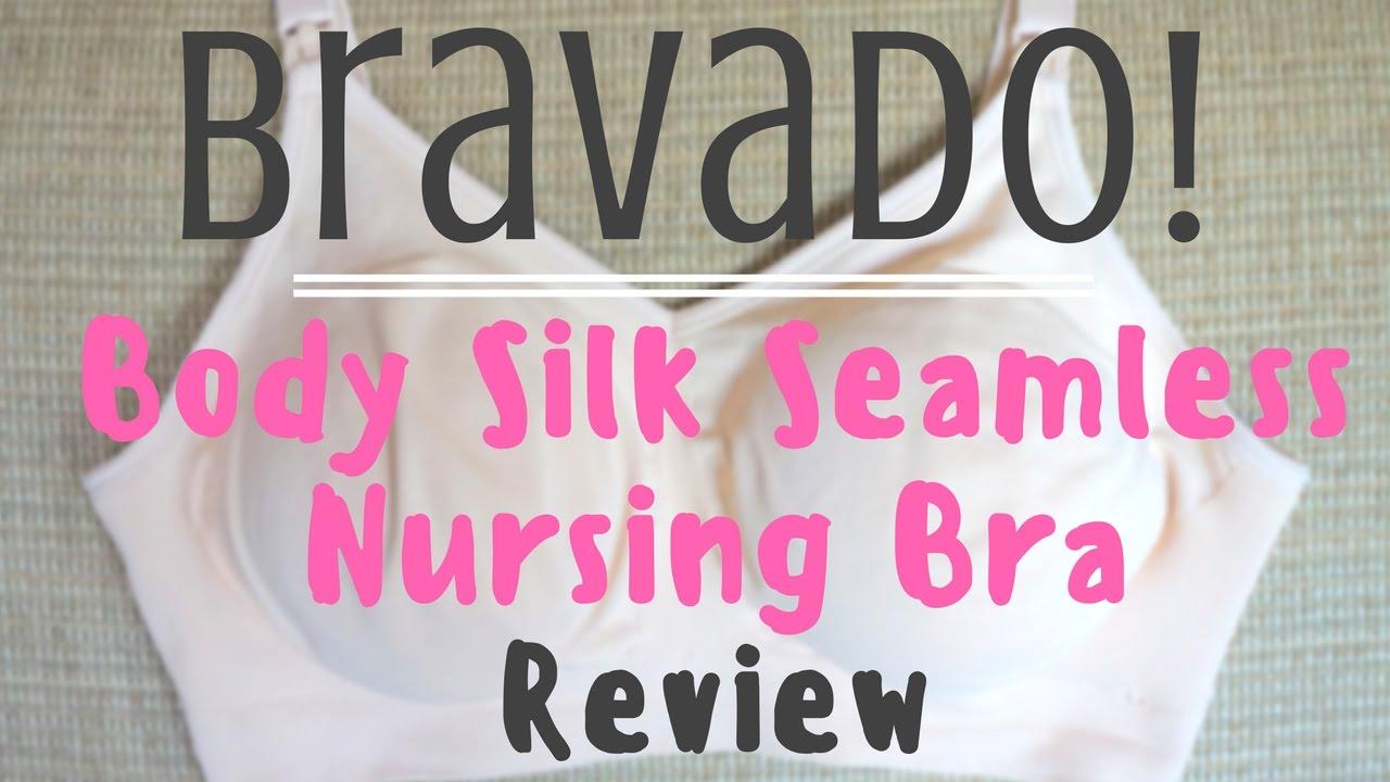 3f6e8a83da Bravado Body Silk Seamless Nursing Bra Review    Momma Alia - YouTube