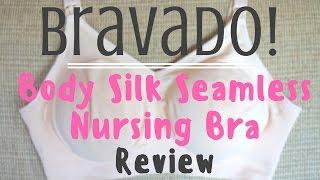 Bravado Body Silk Seamless Nursing Bra Review // Momma Alia