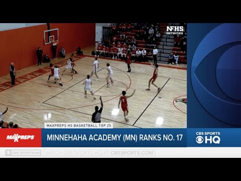 Chet Holmgren and Minnehaha Academy (MN) begin the year ranked in the MaxPreps Top 25