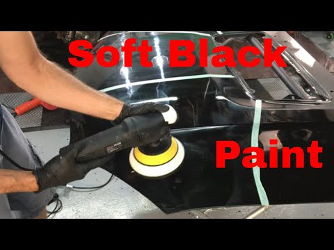 Soft, Black Paint..How To Do Paint Enhancements, One Steps, AIOI, And Cut/Finish! ALSO What To Use!!