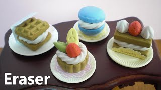 Sweets shaped eraser making kit