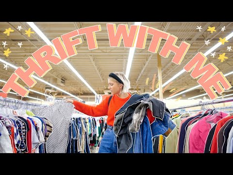 COME THRIFT WITH ME ON BLACK FRIDAY | big 75% off thrift store SALE!! | Winter Try On Thrift Haul