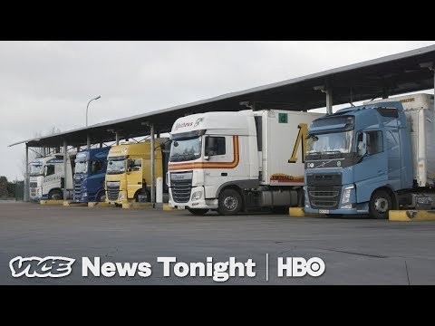 How A No-Deal Brexit Could Result In Trucking Hell (HBO)