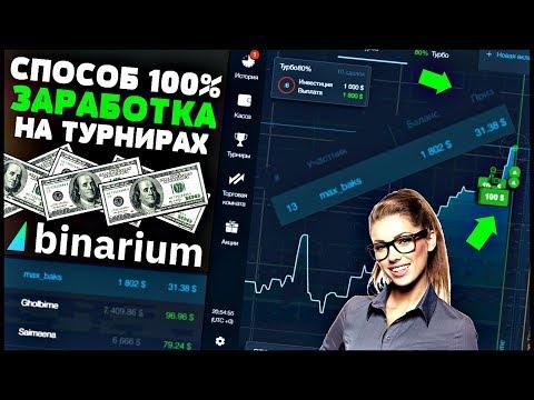 СЛИВАЮ 100% Способ ЗАРАБОТКА На ТУРНИРАХ Бинариум! Как Победить В Турнире Binarium? Опционы