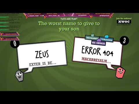 Error 404 | Quiplash 2 |