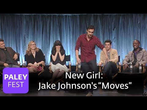 New Girl  Jake Johnson's Dancing Skills