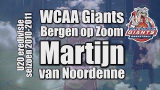 Martijn highlights WCAA Giants seizoen 2010-2011