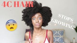 What To Do When Your 4c Hair Stops Growing