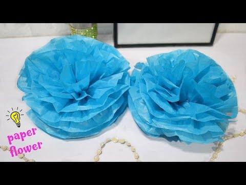 Testing making Paper flower with ready to made Japanese papers| How to make paper flower