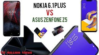 Nokia 6.1 plus vs Asus zenfone 5Z   REVIEW   TN SOLUTION  