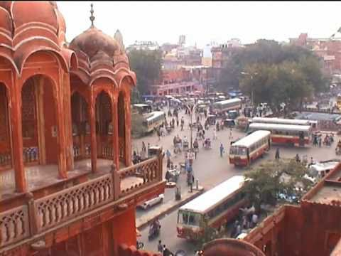 India - Jaipur : Hawa Mahal, Royal Gaitor, City Palace, Fort Amber