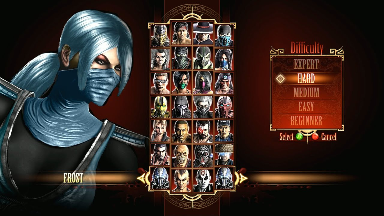 Mortal Kombat 9 Frost - YouTube - photo#39