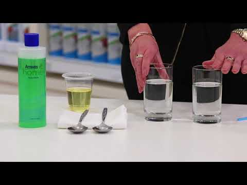 Did You Know - DISH DROPS™ Concentrated Dishwashing Liquid Demonstration - Effectiveness