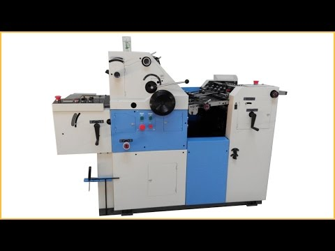 Digital offset printer offset printing machine 1 color digit
