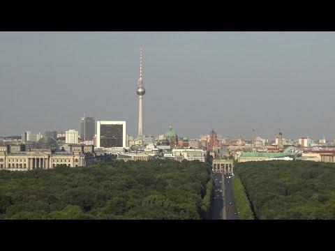 Berlin Victory Column - Siegessäule (4K)