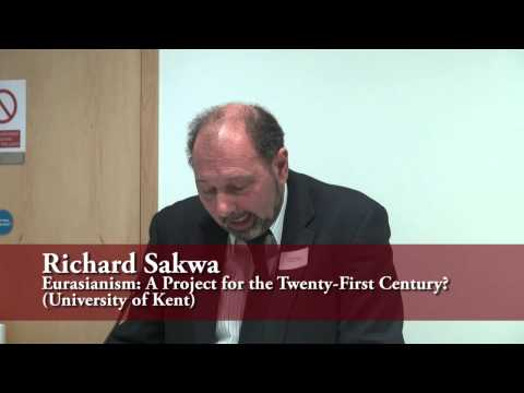Eurasia: discursive space, geopolitical project  or geo-economic reality? (Session #1)