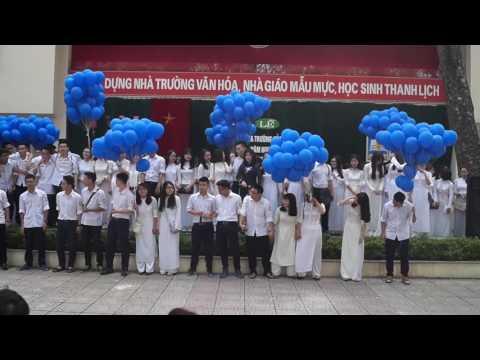 Lời cảm ơn của khối 12 THPT Nguyễn Gia Thiều