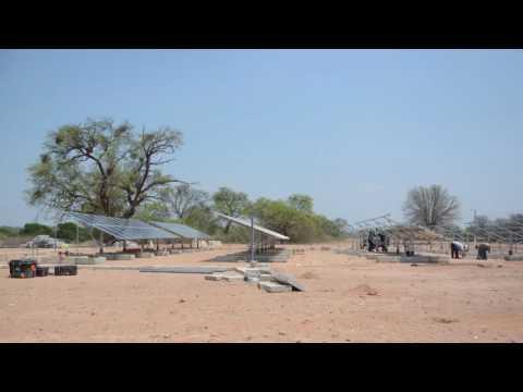 Planta fotovoltaica en Paraguay [TimeLapse]