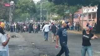 GNB Expulsada por ciudadanos en San Cristobal Estado Tachira