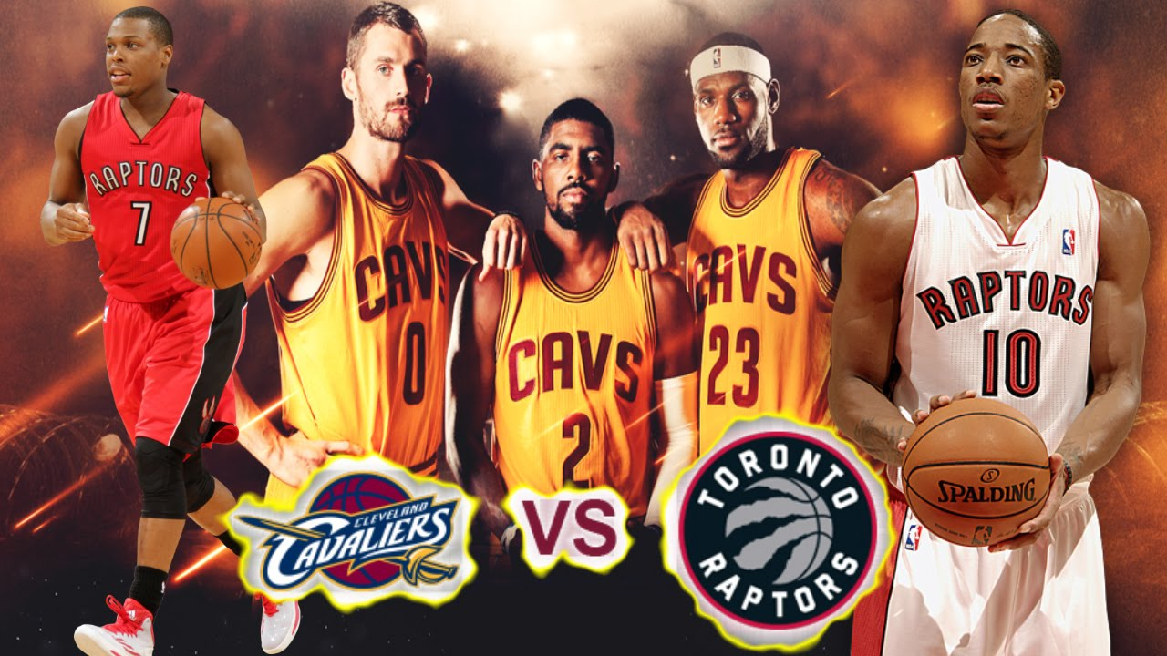 Image result for Cavaliers vs Raptors pic