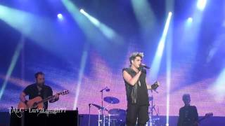 Band Intro & Mad World - Adam Lambert - HD Live - Sainte Agathe