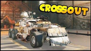 Crossout - HOVER TANK & DUAL RETCHER HOVERCRAFT! - Crossout Gameplay