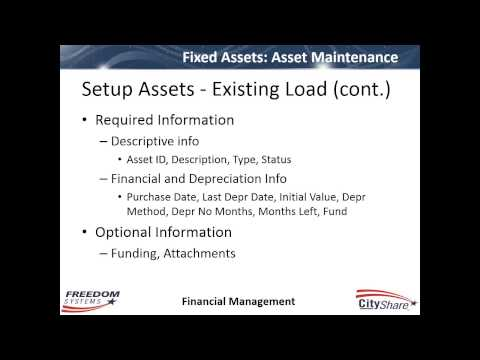 2014 09 11 13 03 Digital User Group   Getting Started with Fixed Assets