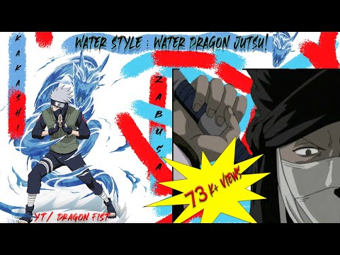 hand signs for water style water dragon jutsu youtube