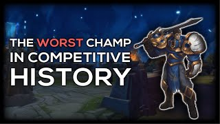 Garen: A History of The Worst Champion In League of Legends